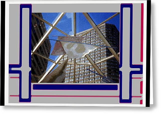 Boston Ma Greeting Cards - Digital Artistry Greeting Card by Stephen Gredler