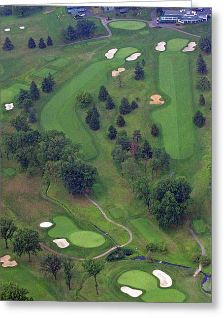 9th Hole Sunnybrook Golf Club 398 Stenton Avenue Plymouth Meeting Pa 19462 1243 Greeting Card by Duncan Pearson