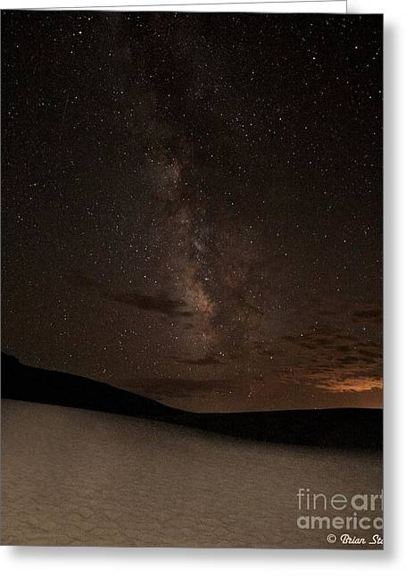 Nightshot Greeting Cards - A Billion Stars - Milky Way Greeting Card by Brian Stamm