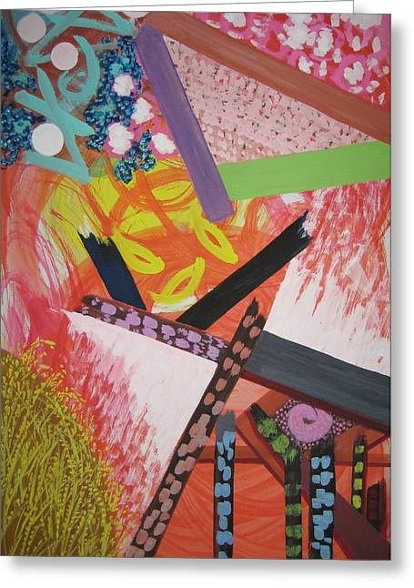 Harvest Art Greeting Cards - A Bountiful Harvest Greeting Card by Imelda Tio