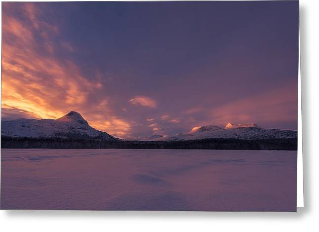 Warmth Greeting Cards - A Breath Of Change Greeting Card by Tor-Ivar Naess