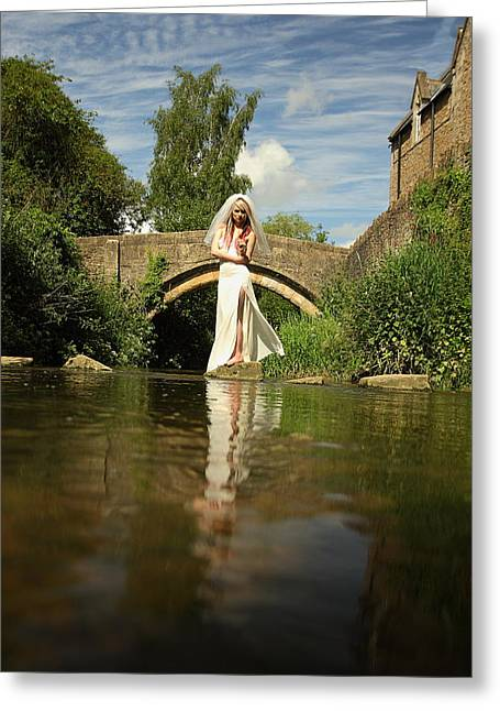 Divorce Greeting Cards - A Bridge over Troubled waters Greeting Card by Art  Creations