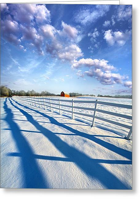A Brief Appearance Greeting Card by Phil Koch