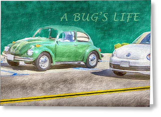 A Bug's Life Greeting Card by David Millenheft