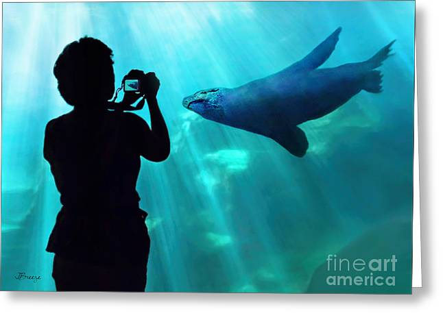 California Ocean Photography Greeting Cards - A Captured Moment  Greeting Card by Jennie Breeze