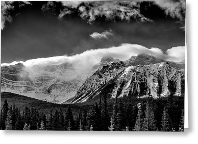 Pyramids Greeting Cards - A Cascade of Clouds  Greeting Card by Drew May