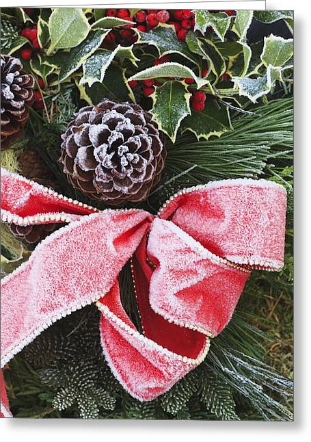Christmastime Greeting Cards - A Christmas Decoration Greeting Card by Craig Tuttle