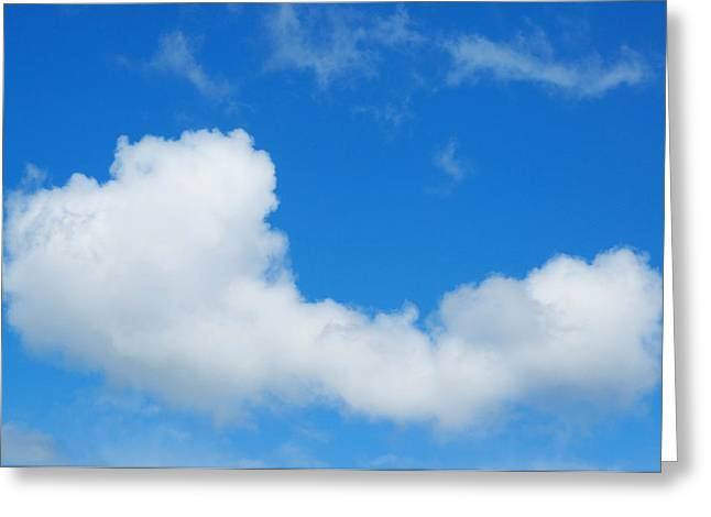 Dream Scape Greeting Cards - A Cloud For You Greeting Card by Gwyn Newcombe
