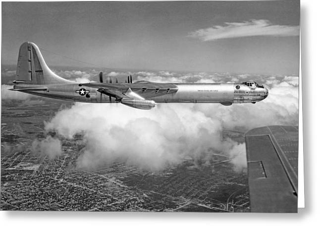 A Convair B-36f Peacemaker Greeting Card by Underwood Archives