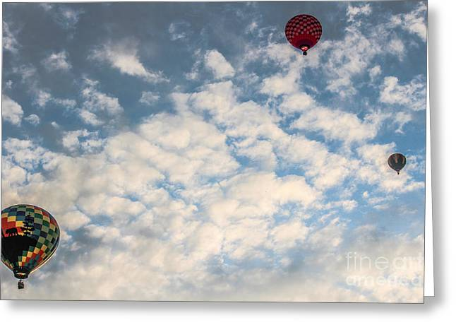 A Dance In The Sky Greeting Card by Victory  Designs