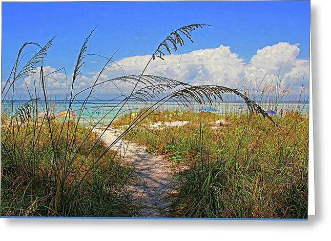 A Day At The Beach Greeting Card by HH Photography of Florida