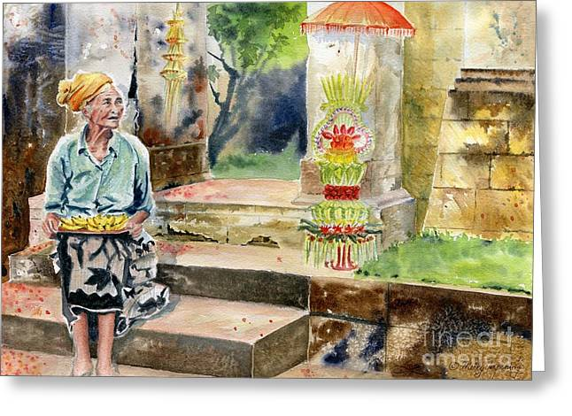 A Day In A Life Greeting Card by Melly Terpening