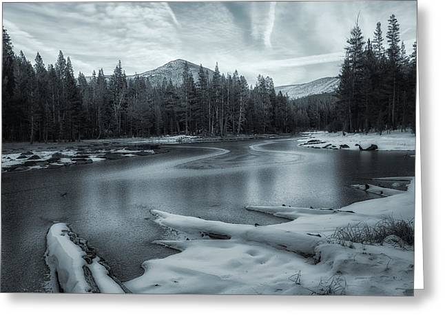 Winter Storm Greeting Cards - A Dry Winter 2 Greeting Card by Jonathan Nguyen