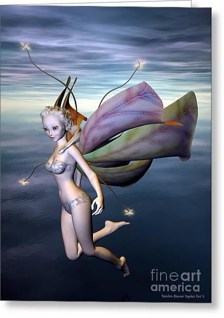 Faerie Tale Greeting Cards - A Faerie Tale Greeting Card by Sandra Bauser Digital Art