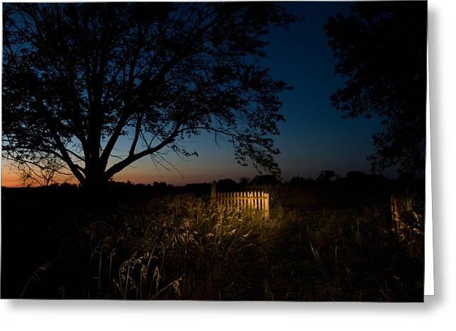 Property Released Photography Greeting Cards - A Farm Near Princeton, Nebraska Greeting Card by Joel Sartore