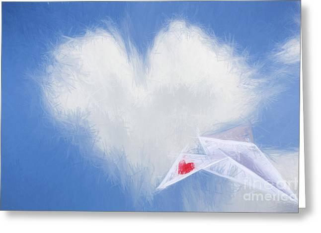 A Flight Of Fancy Greeting Card by Jorgo Photography - Wall Art Gallery