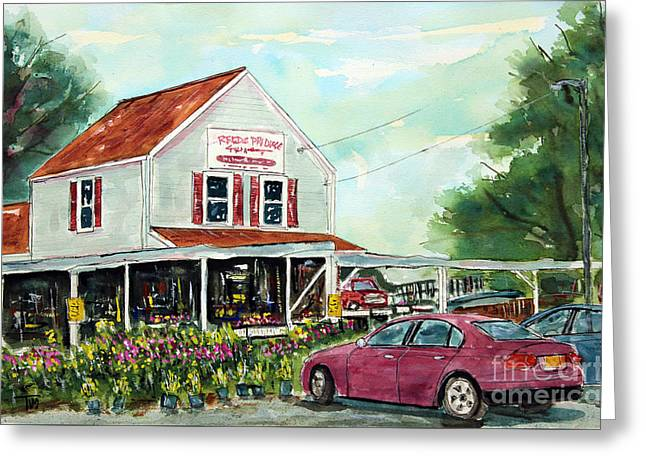 Franklin Tennessee Greeting Cards - A Franklin Favorite Greeting Card by Tim Ross
