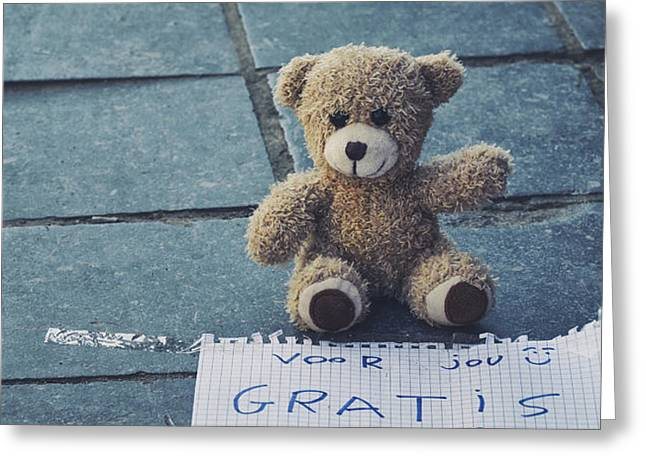 Roadway Greeting Cards - A free smile Greeting Card by TouTouke A Y