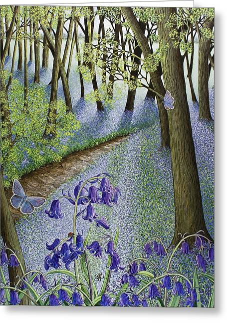 Undergrowth Greeting Cards - A Fresh Start Greeting Card by Pat Scott