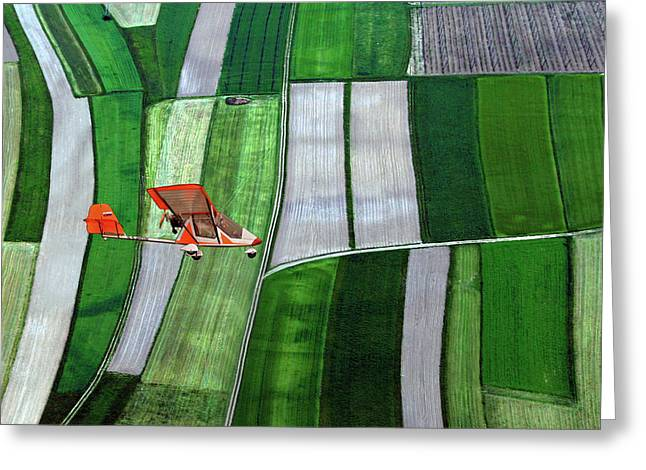 Flying Greeting Cards - A Friend Greeting Card by Matjaz Cater