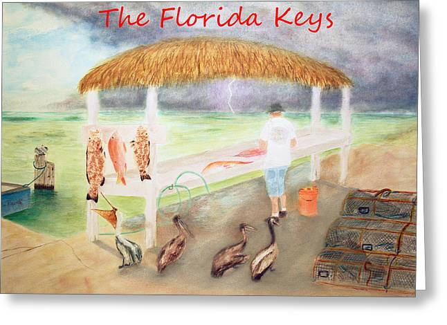 Mutton Snapper Greeting Cards - A good day of fishing greeting card Greeting Card by Ken Figurski