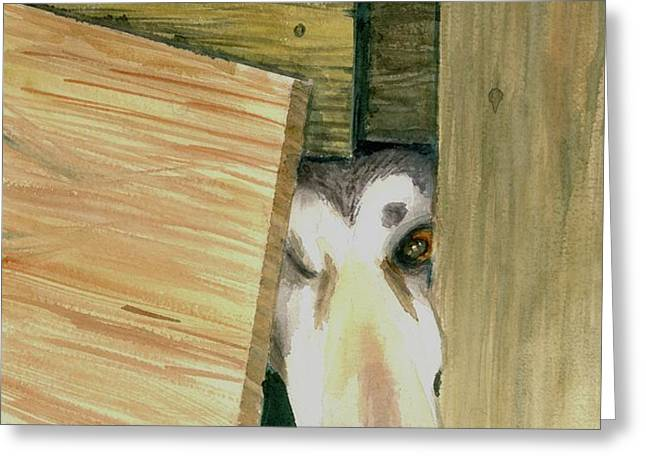 A great escape  -variation 2 Greeting Card by Yoshiko Mishina