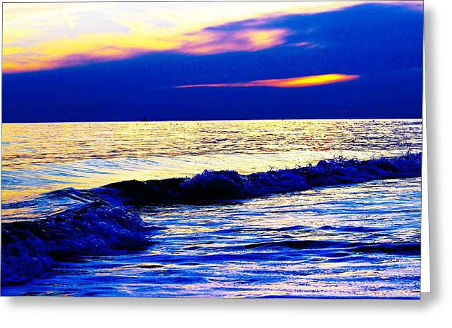 Reflecting Water Greeting Cards - A Hint of Pink Greeting Card by Kathy Henderson