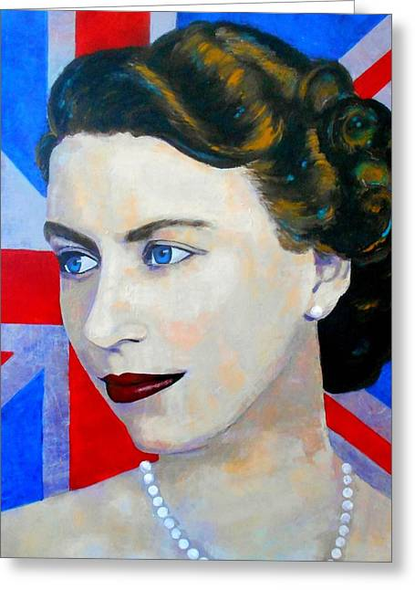 Recently Sold -  - Royal Art Greeting Cards - A Life Extraordinary Greeting Card by Angie Wright