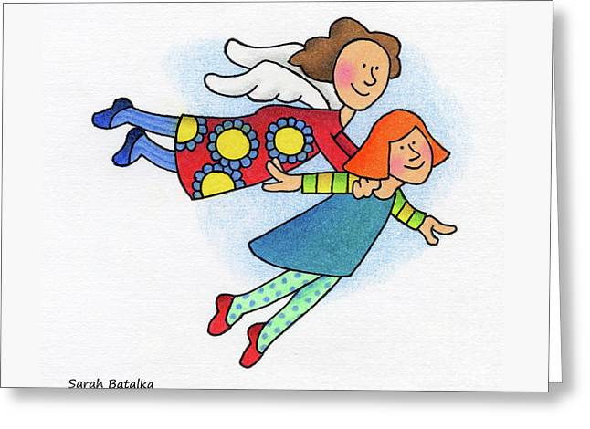 A Lift Up Greeting Card by Sarah Batalka