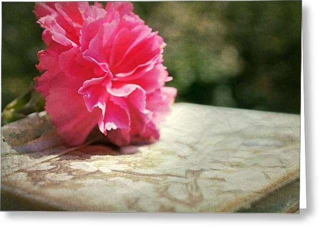 A Love Sonnet Greeting Card by Kathy Bucari