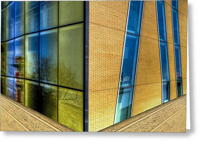 Art Of Building Greeting Cards - A Matter of Perspective Greeting Card by Paul Wear