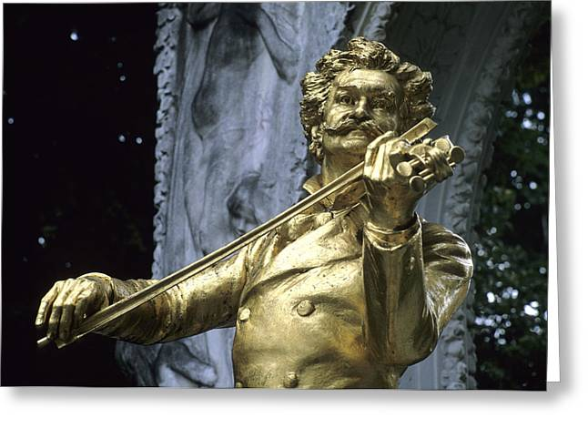 Eu Greeting Cards - A Memorial To The Artist Strauss Greeting Card by Taylor S. Kennedy