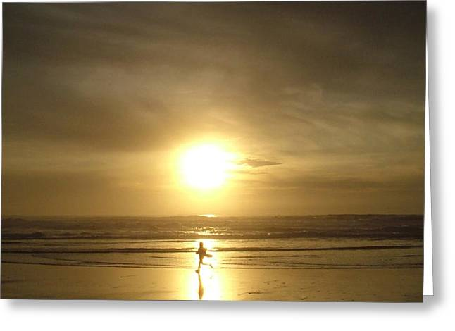 A moment in the sun Greeting Card by Nick Gustafson