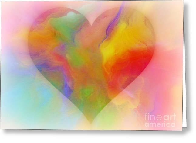 A Moment Of Love Greeting Card by WBK