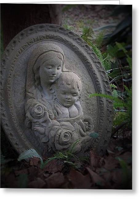Caring Mother Greeting Cards - A Mothers Love Greeting Card by John  Glass