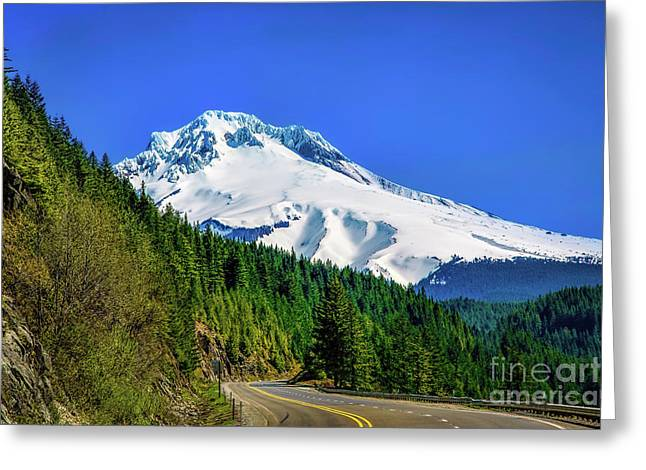 Jon Burch Photography Greeting Cards - A Mountain Called Hood Greeting Card by Jon Burch Photography