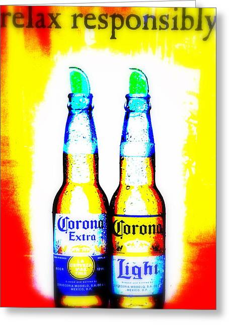 Corona Greeting Cards - A must for Manhattan Greeting Card by Funkpix Photo Hunter