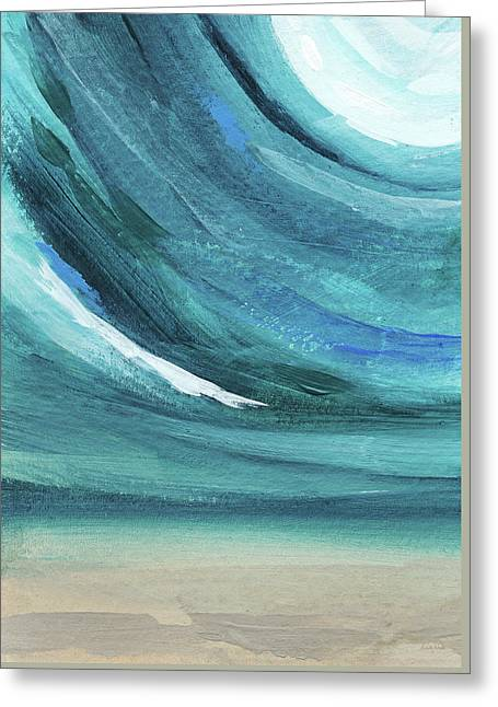 A New Start- Art By Linda Woods Greeting Card by Linda Woods