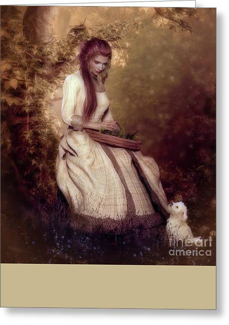 A Perfect Day The Herbalist Greeting Card by Shanina Conway
