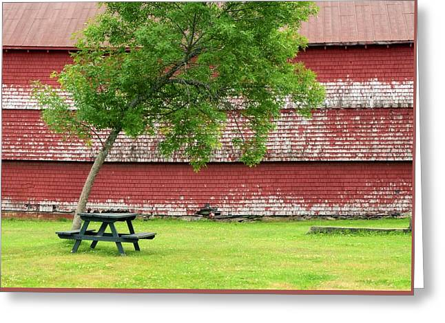 A Picnic For You And Me Greeting Card by Corinne Rhode