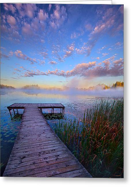 A Place Of Quiet Reflection Greeting Card by Phil Koch