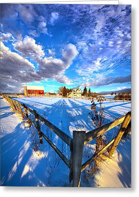 A Place To Call Home Greeting Card by Phil Koch
