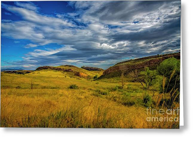 A Place To Hike Greeting Card by Jon Burch Photography