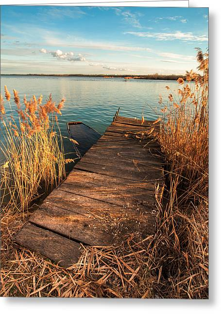 Davorin Mance Greeting Cards - A place where lovers meet Greeting Card by Davorin Mance