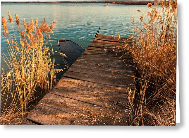 A place where lovers meet Greeting Card by Davorin Mance