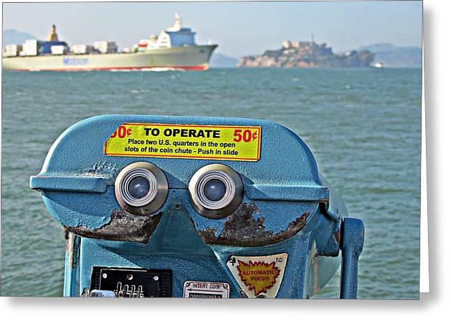 Californian Greeting Cards - A Popular View Greeting Card by D M