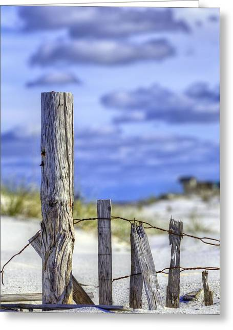 A Posting From Panama City Beach Greeting Card by JC Findley