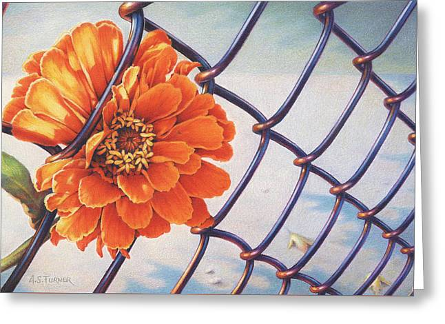 A Prison Of Her Own Making Greeting Card by Amy S Turner