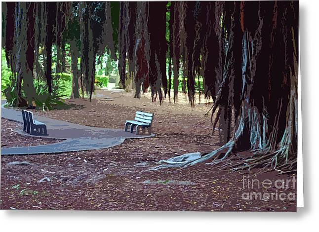 Hilo Greeting Cards - A Quiet Resting Place Greeting Card by Bette Phelan