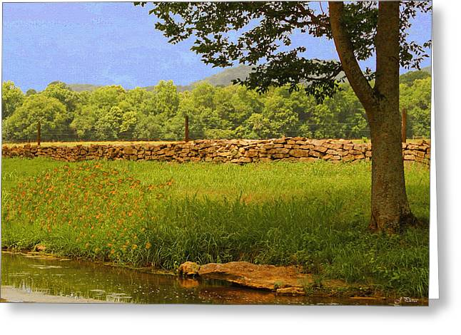 Stones Greeting Cards - A Quiet Summer Day  Greeting Card by Jayme Pierce